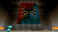 The Legion of Shenandoah symbol built on a wall