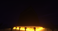 The log out Kaaba with Shaders.
