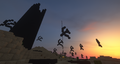 The Valley of Armorsmith in Sunset.