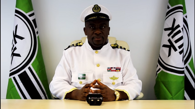 Big Man Tyrone in his Kekistani Presidential Uniform.