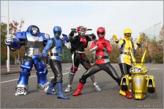 Tokumei Sentai Gobusters - All The Tropes