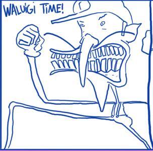 Expecting a funny caption? TOO BAD! Waluigi time!
