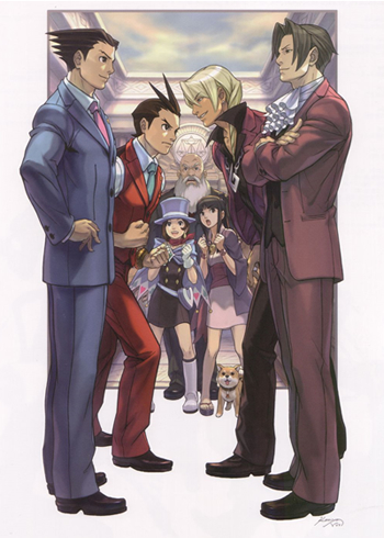 Ace Attorney All The Tropes