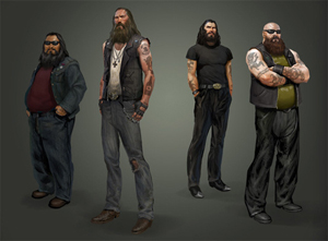 Left 4 Dead/Characters - All The Tropes