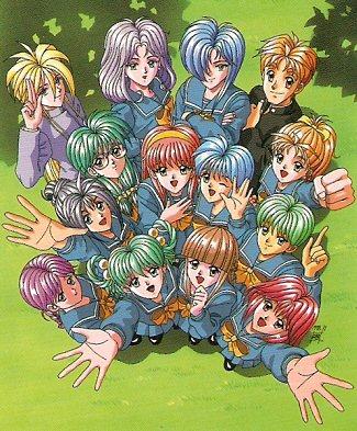 Tokimeki Memorial Characters 1 All The Tropes