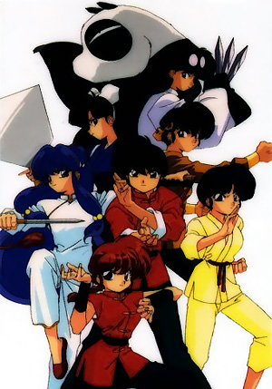 Ranma ½ - All The Tropes