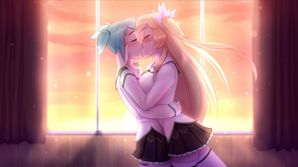 Highschool Romance Image Links All The Tropes