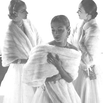 White mink wrap trio.jpg