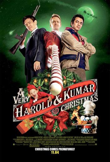 A Very Harold and Kumar 3D Christmas Movie Poster 8863.jpg