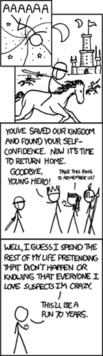 Xkcd 693 - Childrens Fantasy - I was going to be a scientist but that seems silly now 7654.png