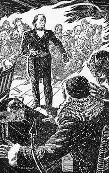 Daniel Webster and the Devil argue in court.jpg