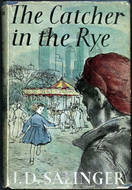 a description of the alienation in the book catcher in the rye by jd salinger holden caufield