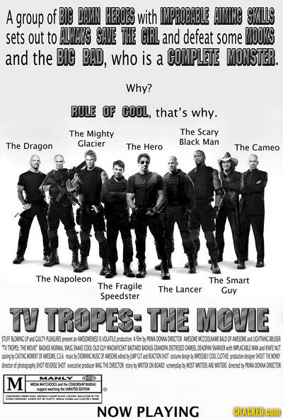 Troperiffic - All The Tropes
