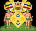 Coat of arms of Elisa, Crown Princess of Sierra.png