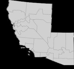 Map of Sierra