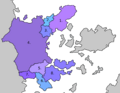 Map of Tersaic countries with numbers.png