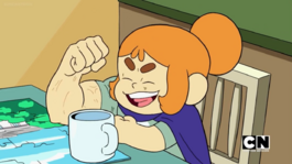 Craig of the Creek S03E20 — Kelsey's arm muscle flex 005.png