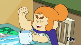 Craig of the Creek S03E20 — Kelsey's arm muscle flex 001.png