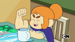 Craig of the Creek S03E20 — Kelsey's arm muscle flex 003.png