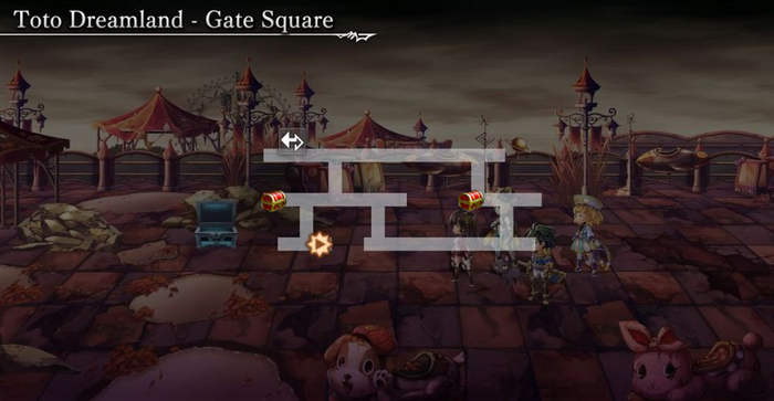 Toto Dreamland (Another Dungeon) Minimap 1.png
