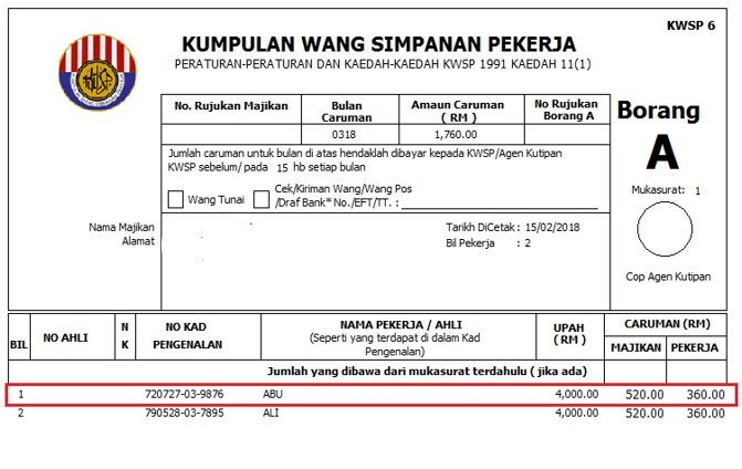 Troubleshooting Payroll Resigned Staff Still Show In Epf Borang A