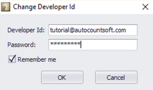 Login with Developer ID