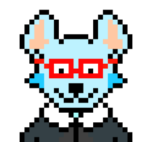 My fursona in pixel art.