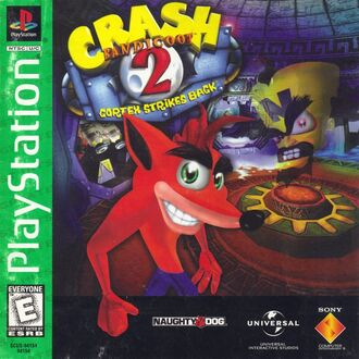 Crash Bandicoot 2; Cortex Strikes Back.jpg