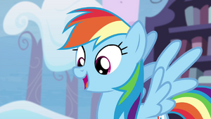 Rainbow Dash happy again S4E21.png