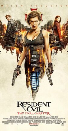 Resident Evil The Final Chapter Awful Movies Wiki