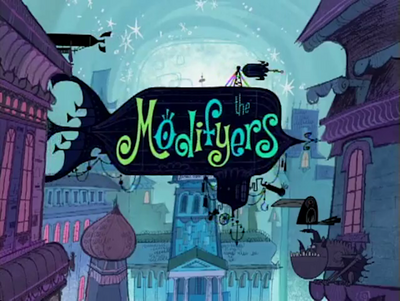 The Modifyers title card.png