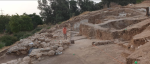 Excavations of Gath, 2019. Credit: Prof. Aren Maeir, Tell es-Safi Archaeological Project, Bar-Ilan University.