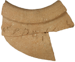 The Ophel Inscription, photographed by the Israel Exploration Journal