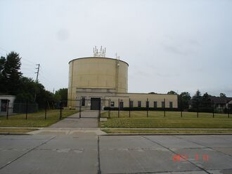 Perry Avenue Water Tower, 2011.JPG