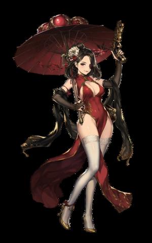 Chinese Dress Foxy illustration.png