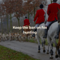 Keep Fox Hunting Ban.PNG