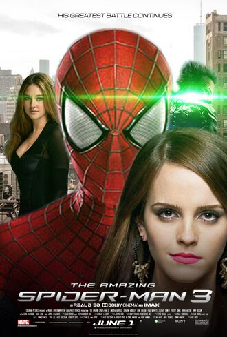 The Amazing Spider-Man 3 theatrical movie poster 2018.jpg