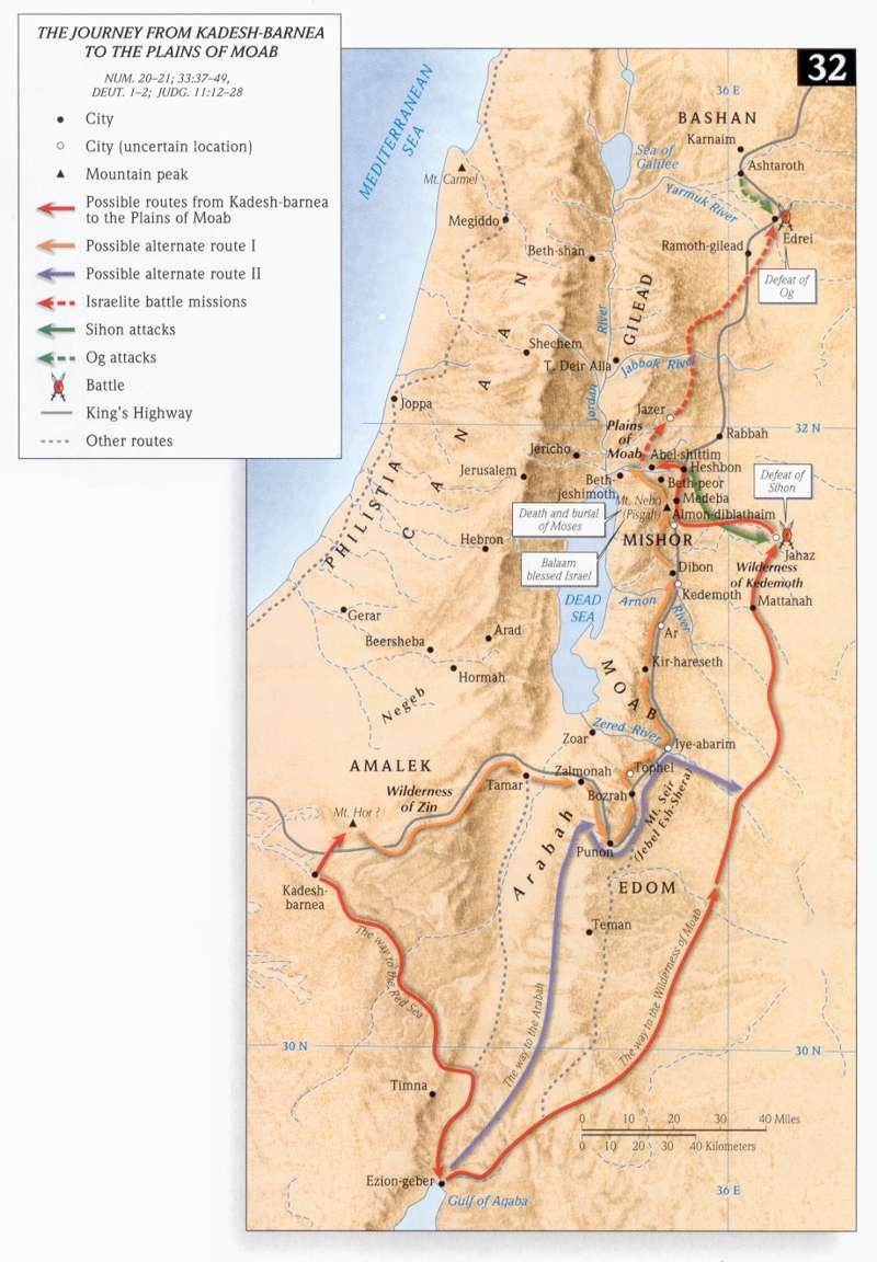 Israel woestijnreis Kadesh naar Moab.jpg