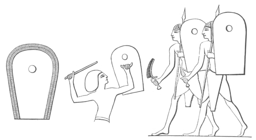 Egyptische schilden
