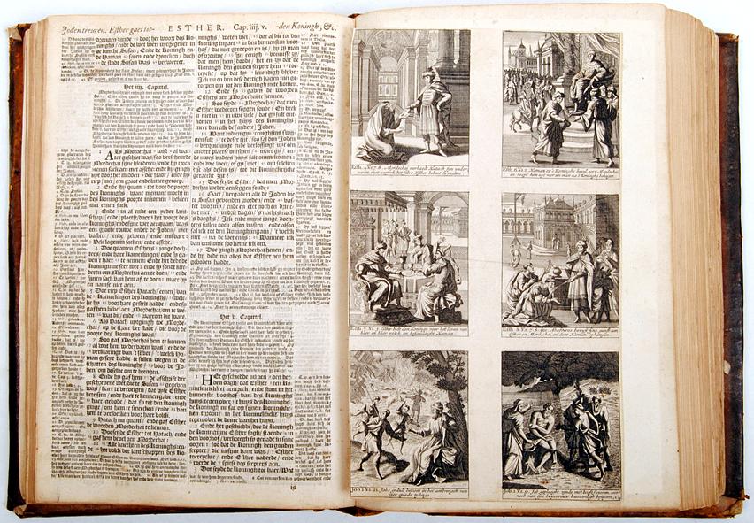 Illustratie in het boek Esther