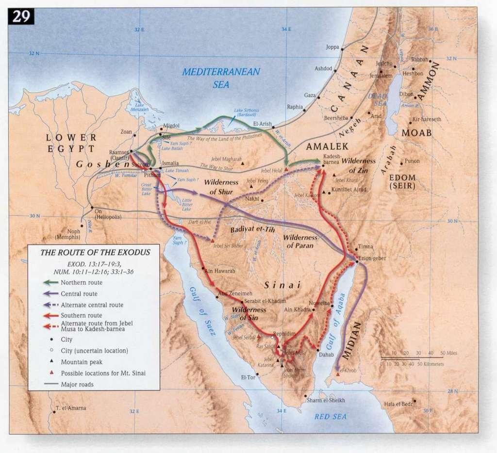uittocht uit egypte christipedia