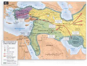 Veroveringen door Cyrus de Grote (Kores) - Perzische Rijk - Access Foundation.jpg