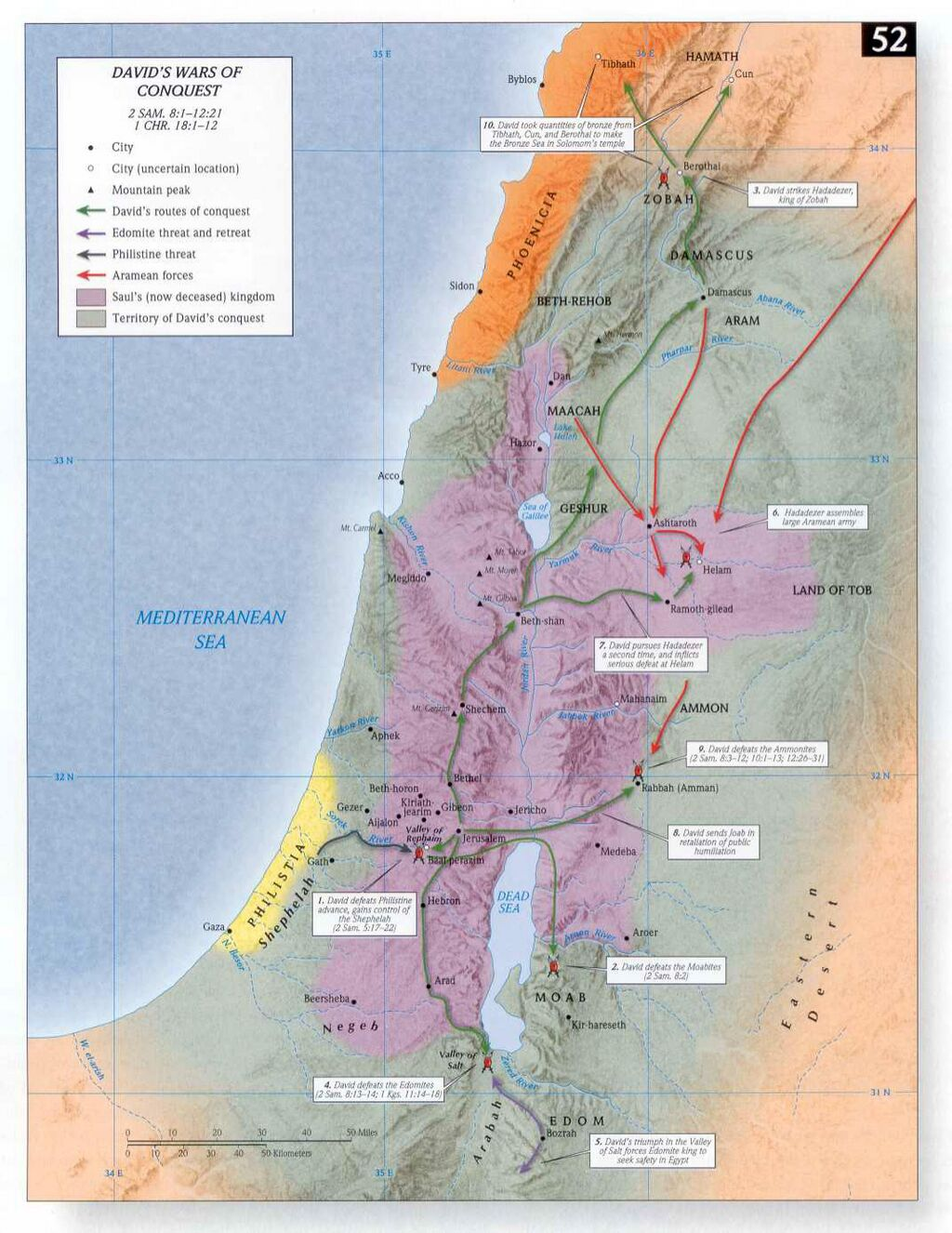 Davids oorlogen van verovering - Access Foundation kaart 52.jpg