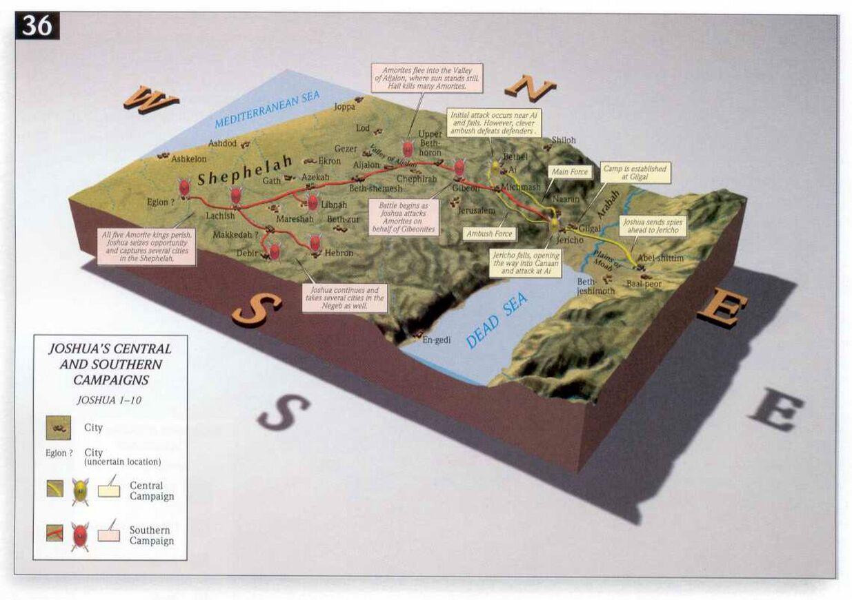 Jozua campagnes midden zuiden Kanaan Access-Foundation.jpg