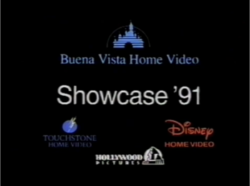 Buena Vista Home Video/Disney Home Video/Hollywood Pictures/Touchstone Home Video (Showcase '91 variant, 1991)