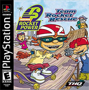 Rocket Power Team Rocket Rescue PlayStation cover.png