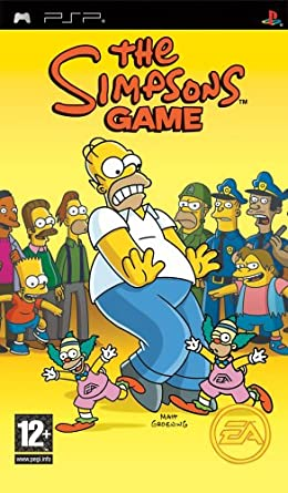 The Simpsons Game Ps2 Psp Wii Crappy Games Wiki