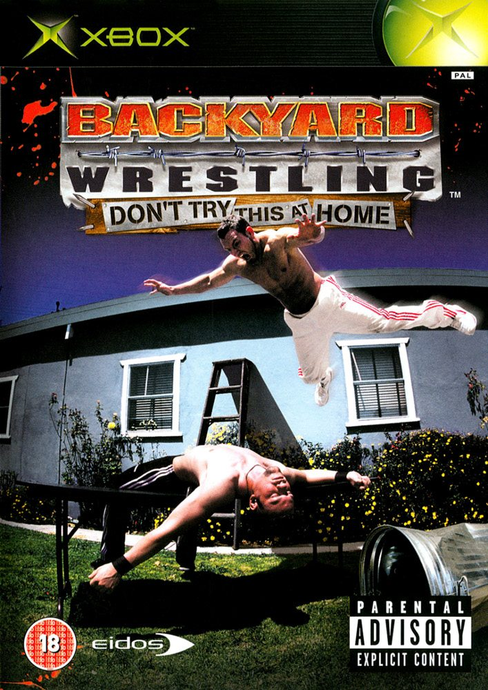 Backyard Wrestling: Don't Try This At Home - Crappy Games Wiki Uncensored - Backyard Wrestling: Don't Try This At Home - Crappy Games Wiki