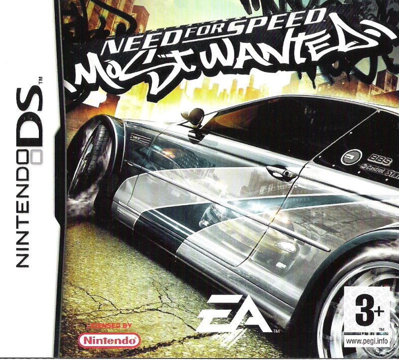 Need For Speed Most Wanted Ds Crappy Games Wiki Uncensored