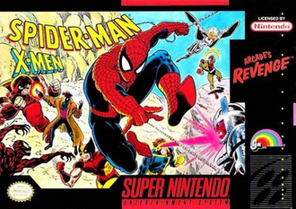 Spider-Man and the X-Men - Arcade's Revenge Coverart.png